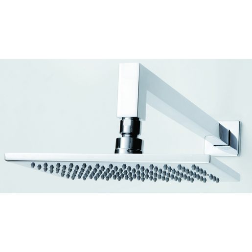 200MM SQUARE HORIZONTAL SHOWER. 3 STAR