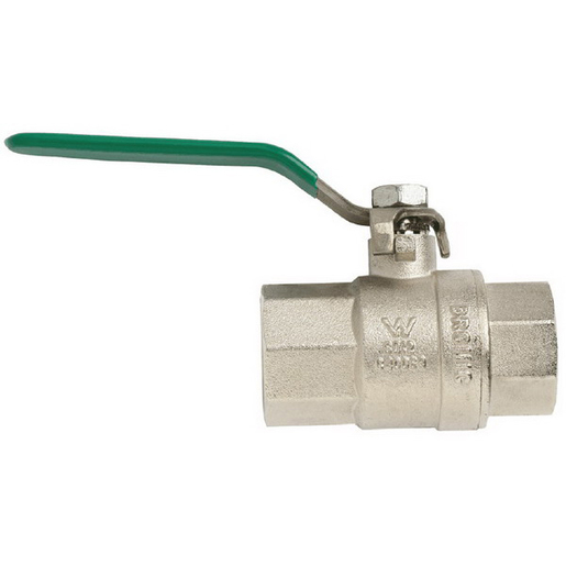 BALL VALVE BRS TESTED 25MM F&F