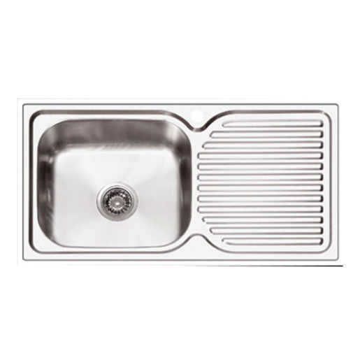 SINK ABEY PR100 PLUS - RH BOWL | Kitchen Sinks | Kitchen | Bathroom ...