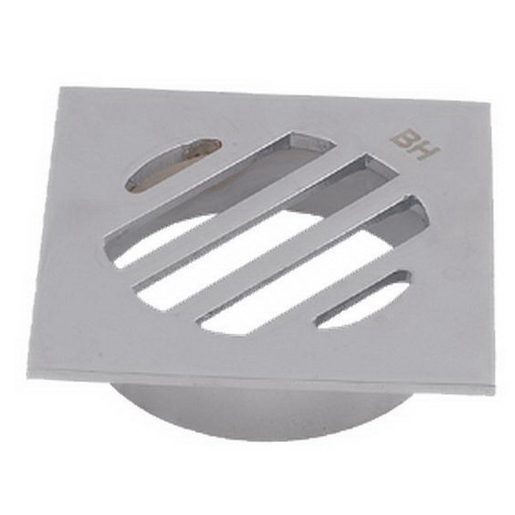 FLOOR GRATE BRS DROP IN PVC SQ 50MM CP