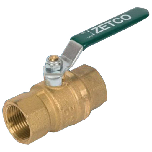 BALL VALVE ZETCO TESTED 15MM