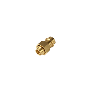 SWIVEL NUT V-PRESS GAS 15MMX1/2FI