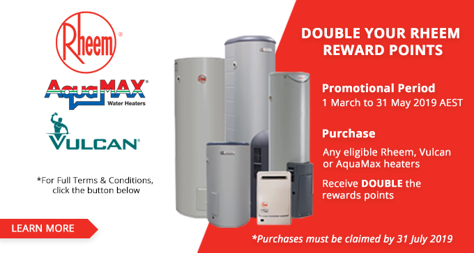 Double Rheem Rewards
