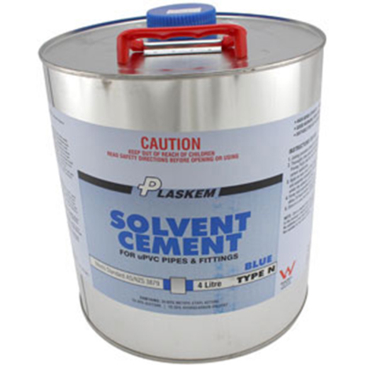 SOLVENT CEMENT BLUE 4LTR