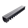 EASYDRAIN CHANNEL W- S/S GRATE [3M]