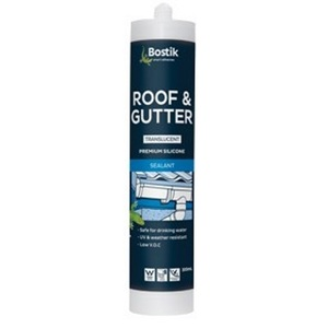 SILICONE ROOF & GUTTER CLEAR 300GM