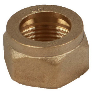 KINCO NUT BRASS 15MM CP