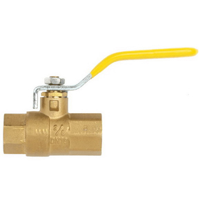 BALL VALVE BRS AGA 20MM F&F
