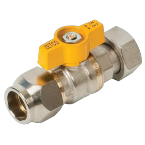 BALL VALVE BRS GAS FL-FI 20MM