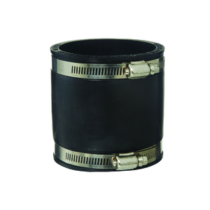 RUBBER COUPLING BLACK 90MM S/W