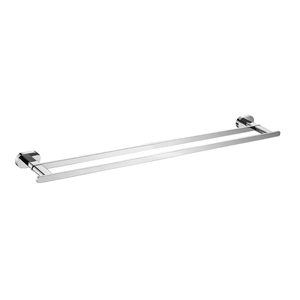 OPUS DOUBLE TOWL RAIL 780MM CP