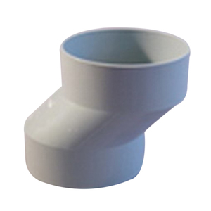D/PIPE ELBOW PVC O/SET 90MMX30MM