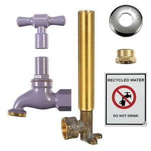 RECYCLE TAP KIT THREADED LILAC