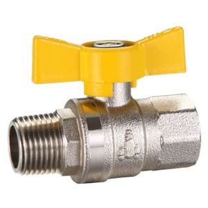 BALL VALVE BRS M&F AGA 15MM