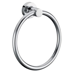 CARLY ROUND TOWEL RING C/P