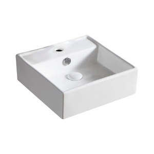 HELEN JUNIOR BASIN 380X380MM WHITE