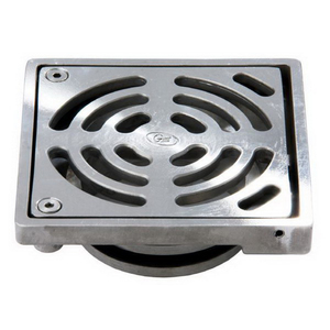 FLOOR DRAIN SQUARE SLIP-IN 150X100 S/S