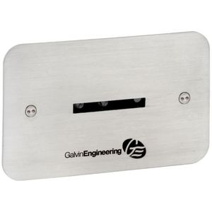 ST/ST FACE PLATE W/ CONCEALED 24AC WALL