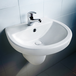 BASIN WALL COSMO W-O/F 1TH WH
