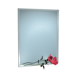 MIRROR S/STEEL FRAMED 460WX900H