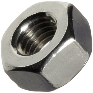 NUT.HEX 10MM STANDARD THREAD ZINC PLTD