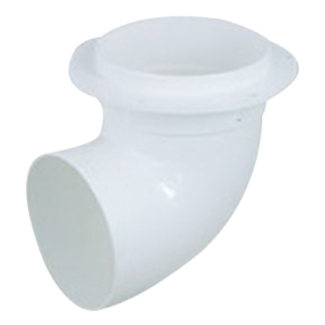 STORMWATER TANK ELBOW WHITE 90MM