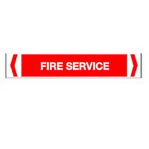 PIPEMARKER FIRE SERVICE 425X30(10)