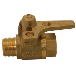 BALL VALVE LOCKABLE M&F RMC 20MM
