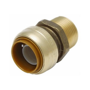 CONNECTOR SHARKBITE PEX 16MM X 15MM MI