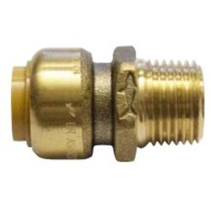 CONNECTOR SHARKBITE PEX 20MM X 20MM MI