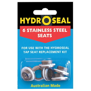 STAINLESS STEEL SEATS - 6 PACK