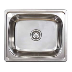 TUB ONLY INSET ACERO SKS-007 45LTR S/S