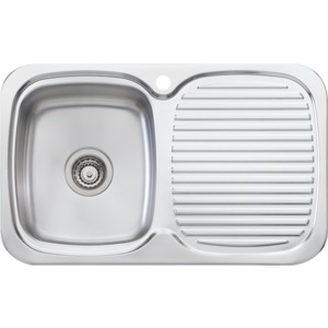 SINK LAKELAND LL116 770MM SNG LHB 1TH