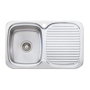 SINK LAKELAND LL117 770MM SNG RHB 1TH