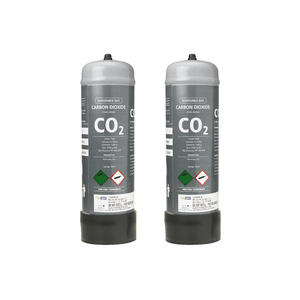 CO2 CYLINDER KIT X 2 FOR BCS BCSS CS SPA